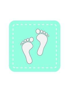 Footprints - icon