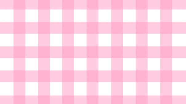 Pink Check Eye Catch (16: 9
