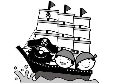 Pirate ship 2c