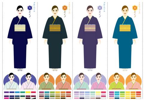 Personal color-specific color scheme Images