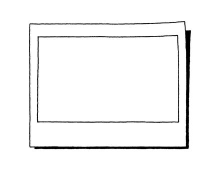 Notepad (Polaroid) Black and White