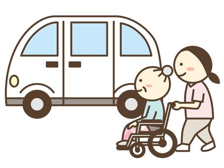 سائق نقل / خدمة نقل الموظفين / سيارة أجرة الرعاية طويلة الأجل
