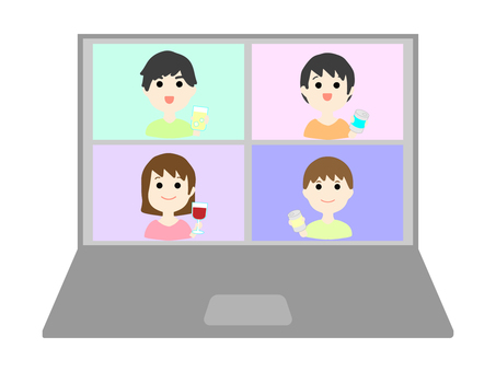Online drinking party