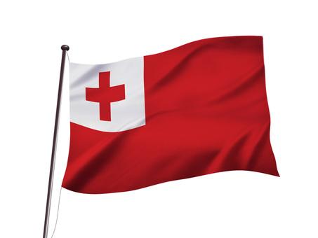 トンガの国旗イメージ