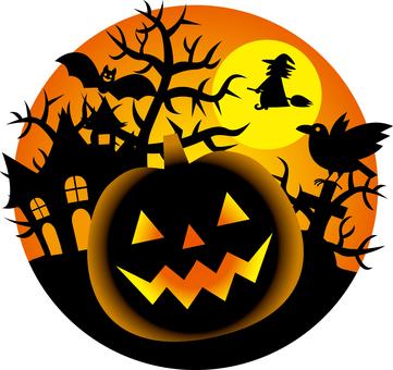 Halloween _ one point _ 01 _ orange