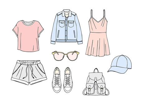 Spring fashion item 02