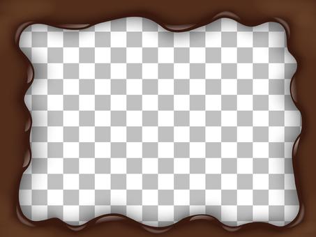 Four corners chocolate frame
