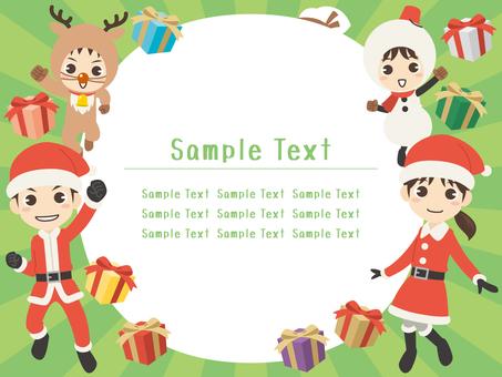 BZ028_ Christmas Family Frame 10