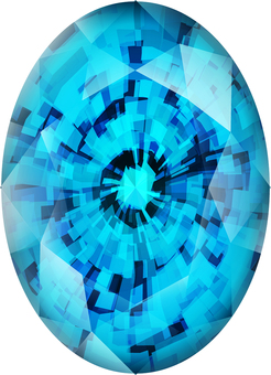 ai oval cut aquamarine