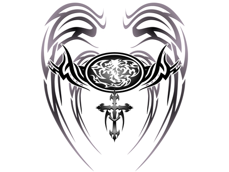 Tribal dragon - 007