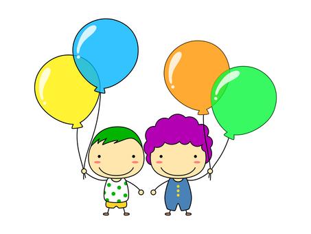 People - balloons 2