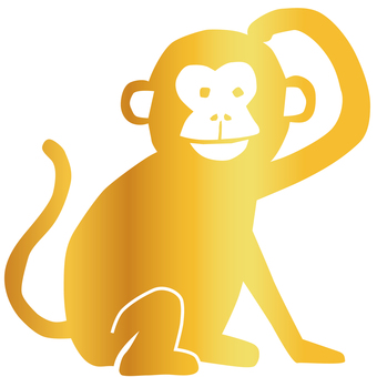 Monkey - Gold