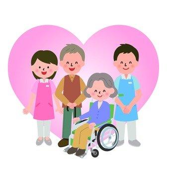 Yaşlı ve yardımcı
