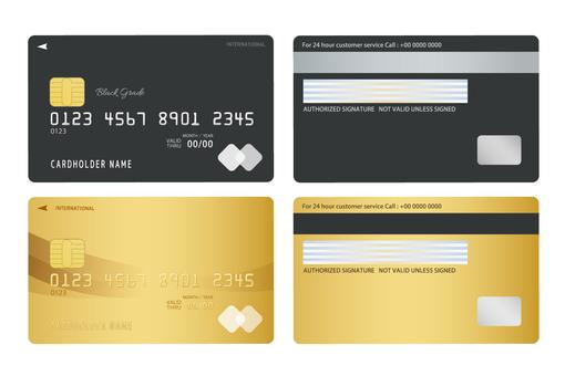 Black · Gold Card