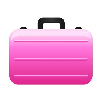 Attache case (pink)