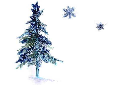 Mimonoki and snowflakes