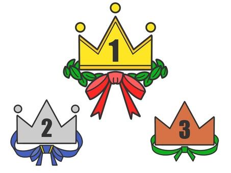 Top 3 medal set