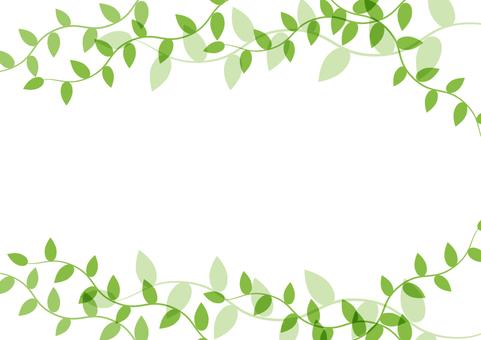 綠葉框架4