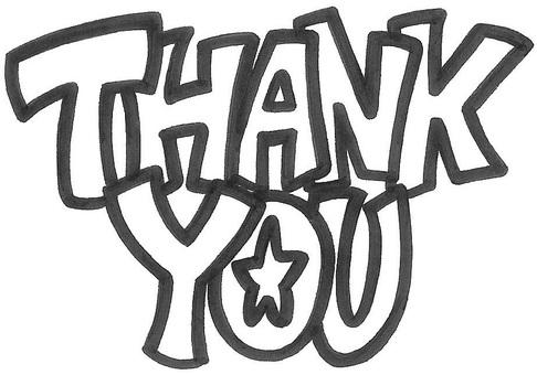 THANK YOU ☆ logo
