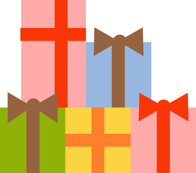 A gift box for gifts