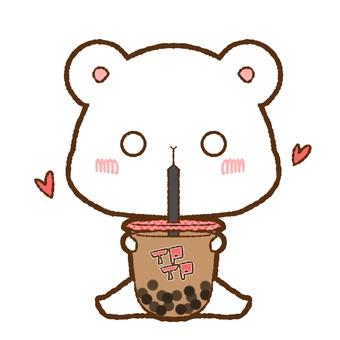 Drink Tapioca Milk Tea Rather Bear