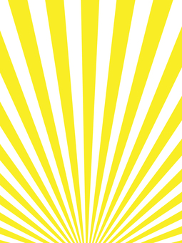 Yellow radiation background material Portrait orientation