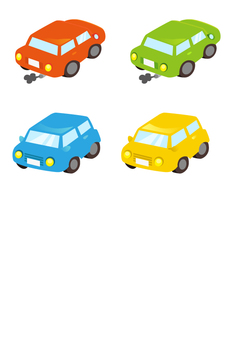 Colorful car set