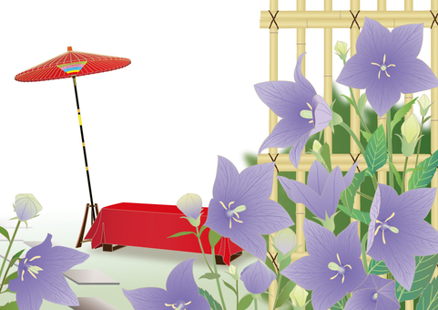 Seat of a field _ bellflower