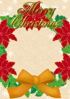 [Frame] Christmas frame 07