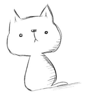 단순 고양이 양