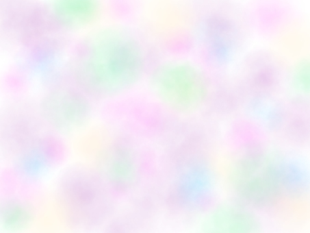 Fluffy spring background material