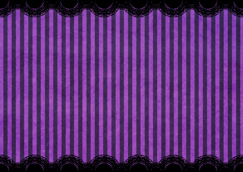 Halloween Striped Lace Background Purple