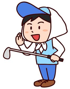 Golf caddy