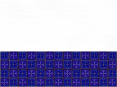 Moroccan tile and white wall background material