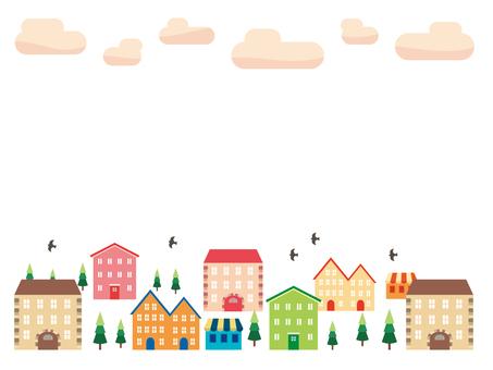 European-like townscape