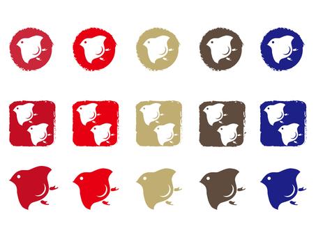 Hidako Hidako · Set of icons