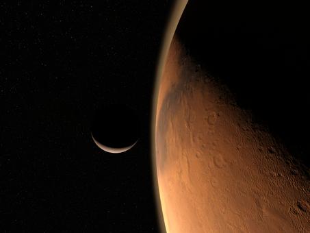 双子の赤い惑星