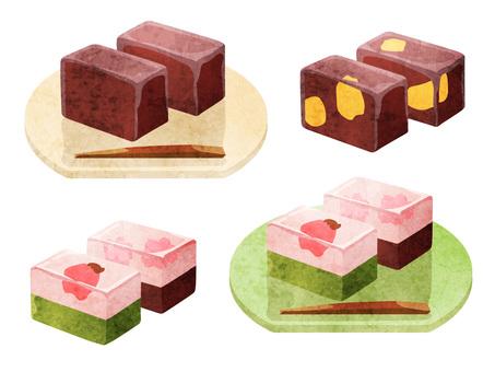 Cooking _ Wagashi _ Sheepskin Watercolor