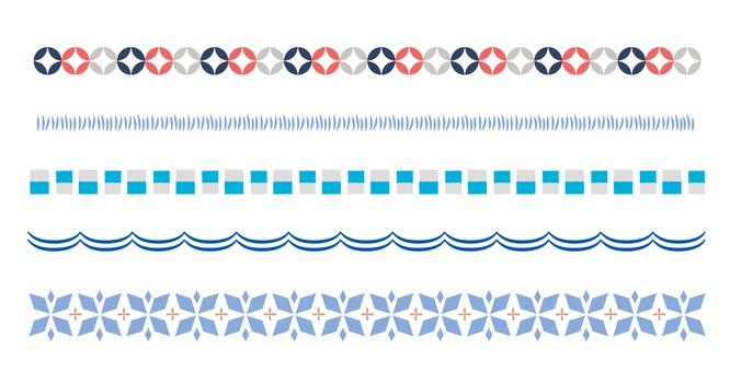 Scandinavian pattern line 02