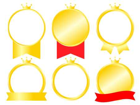 Simple medal crown