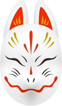 Fox face _ white