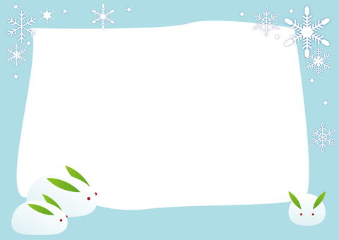 Snow Rabbit Frame