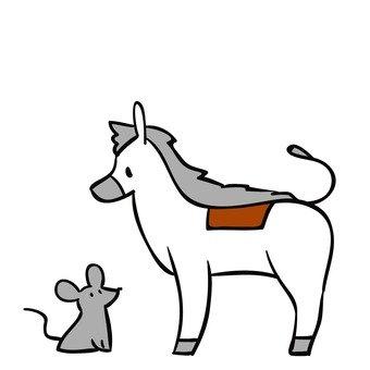 Cinderella horses and rats