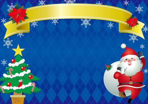 Argyle's Christmas frame 4