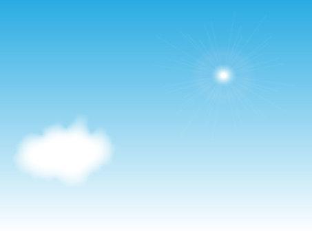 맑은 날의 하늘