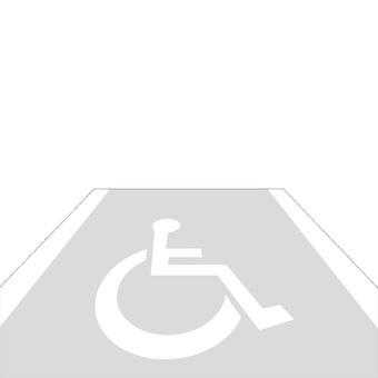 Wheelchair parking space 1