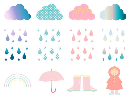 Colorful Rainy Days