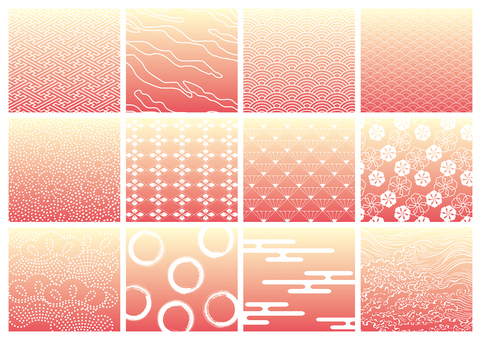 Japanese Pattern Pattern Set 2