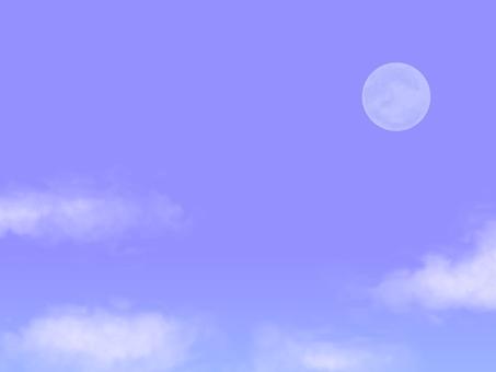 달과 하늘