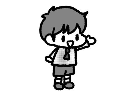 兒童男孩單色3